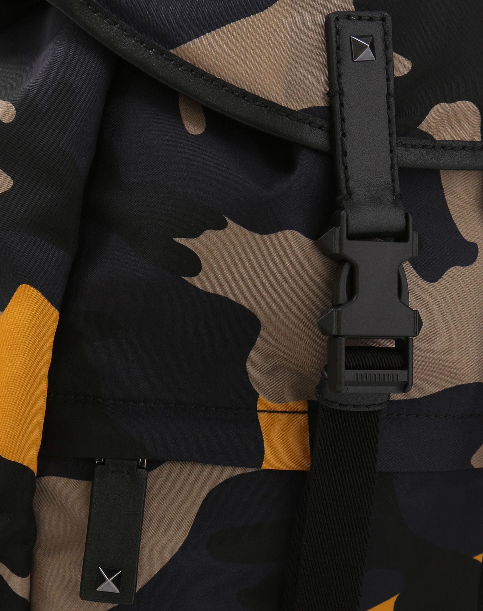 VALENTINO GARAVANI UOMO Camouflage Large Backpack Backpack U b