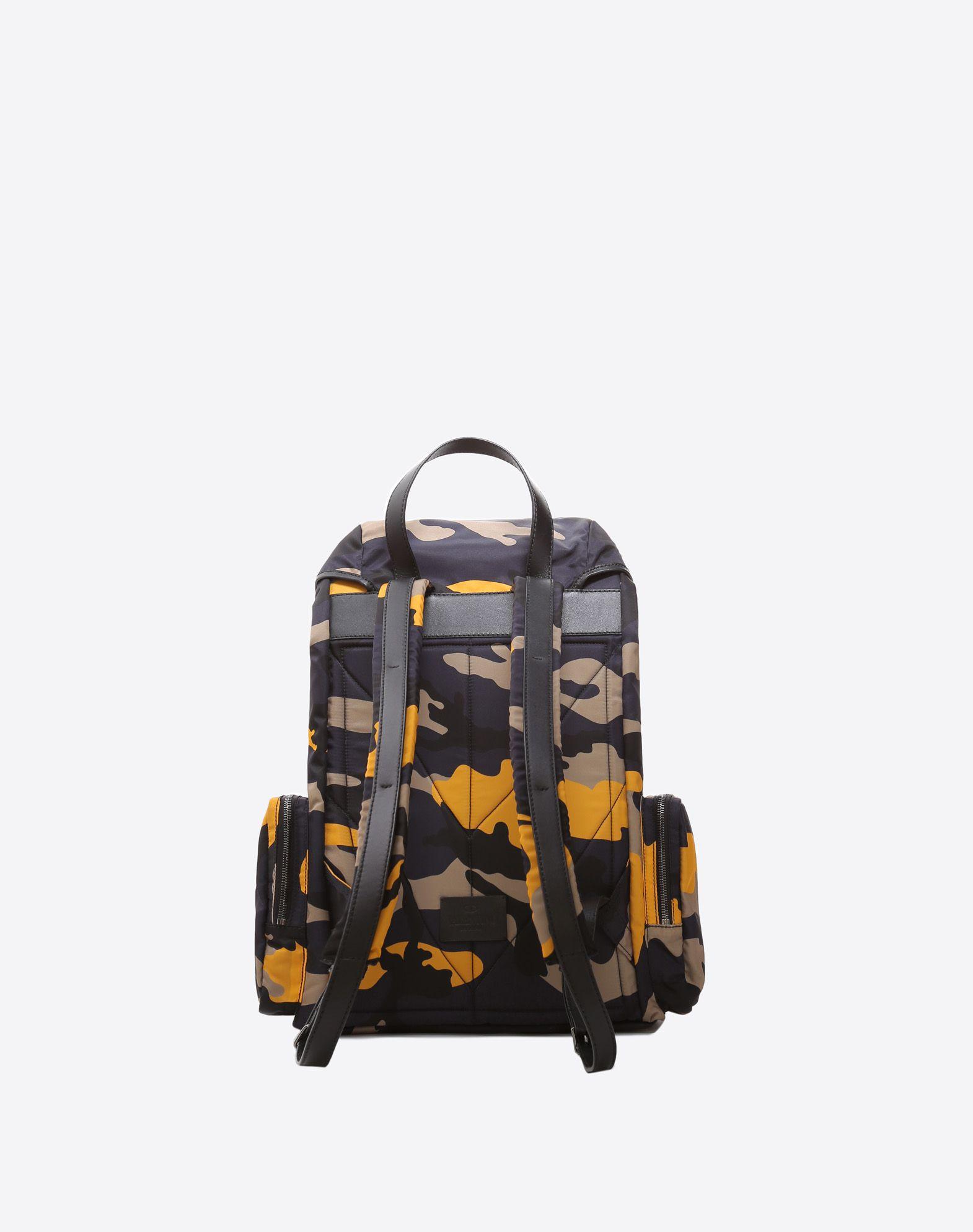VALENTINO GARAVANI UOMO Camouflage Large Backpack Backpack U d