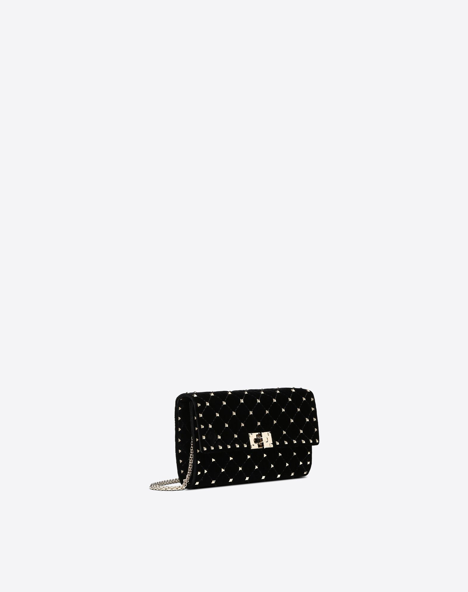 VALENTINO GARAVANI Rockstud Spike Chain Bag CROSS BODY BAG D r