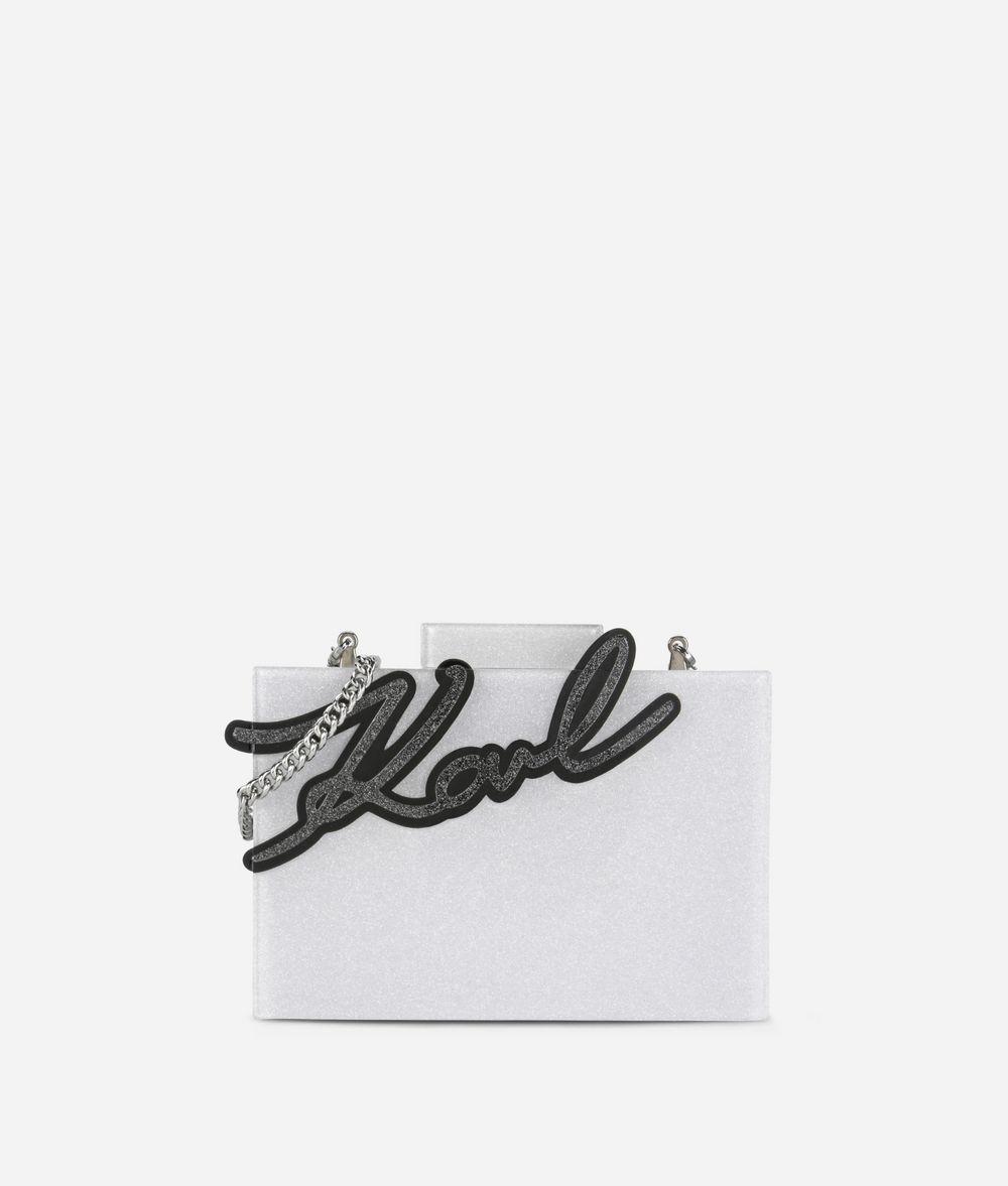 KARL LAGERFELD K/Signature Minaudière Shine  Minaudière Damen f