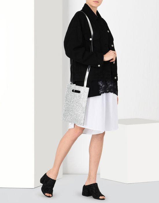 MM6 MAISON MARGIELA Mini glitter shoulder bag Handbag [*** pickupInStoreShipping_info ***] b