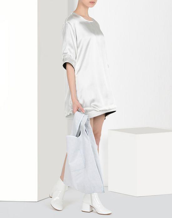MM6 MAISON MARGIELA Cotton and denim shopping bag Tote [*** pickupInStoreShipping_info ***] b