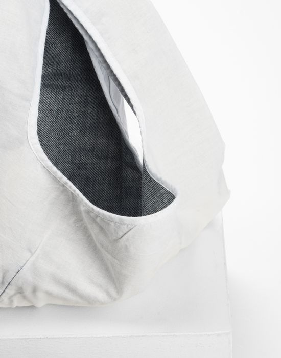 MM6 MAISON MARGIELA Cotton and denim shopping bag Tote [*** pickupInStoreShipping_info ***] d