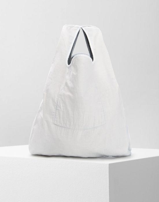 MM6 MAISON MARGIELA Cotton and denim shopping bag Tote [*** pickupInStoreShipping_info ***] f