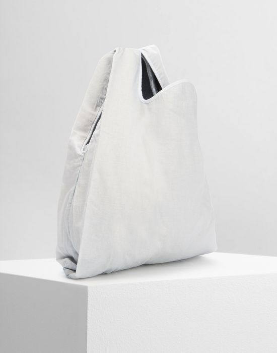 MM6 MAISON MARGIELA Cotton and denim shopping bag Tote [*** pickupInStoreShipping_info ***] r