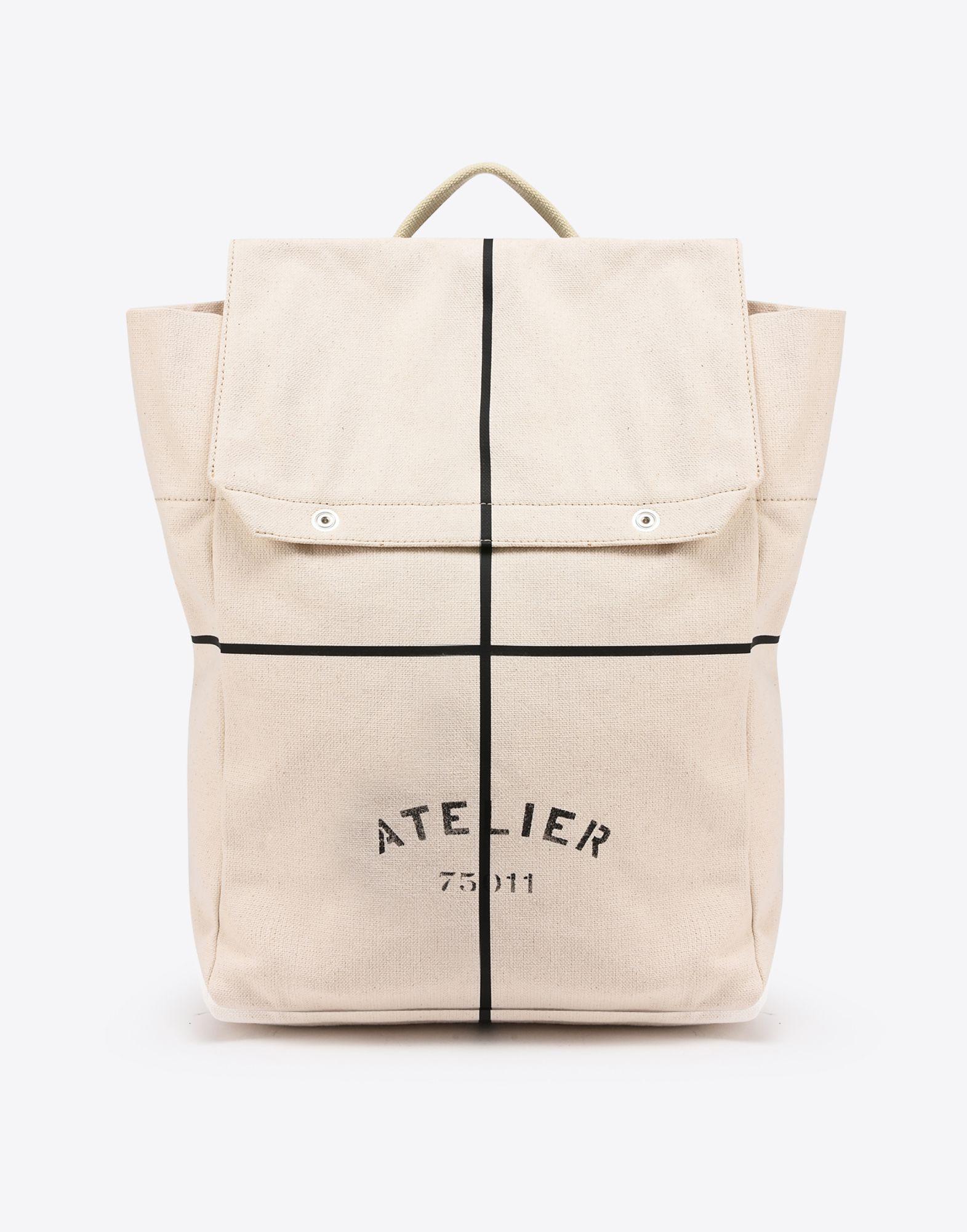 "MAISON MARGIELA ""Atelier"" print backpack Backpack Man f"