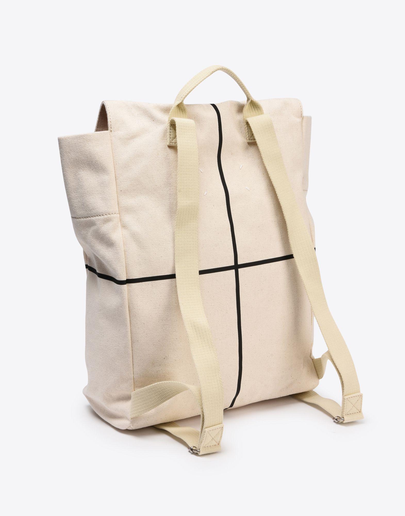 "MAISON MARGIELA ""Atelier"" print backpack Backpack Man r"