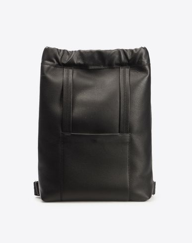MAISON MARGIELA Backpack U Calfskin drawstring backpack f