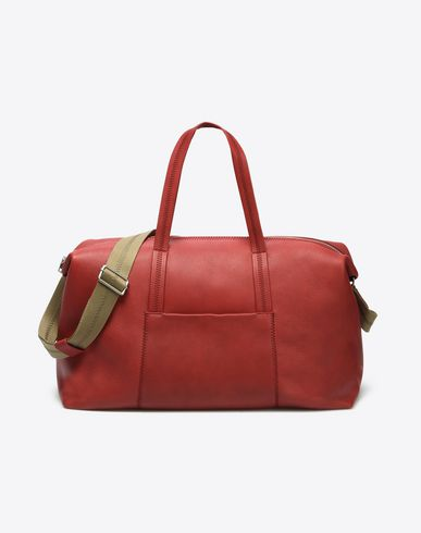 MAISON MARGIELA Travel bag U Calfskin weekend bag f