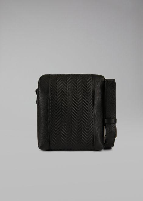 Deerskin crossbody bag