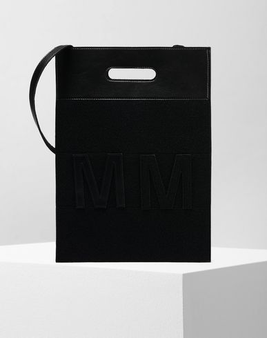 MM6 MAISON MARGIELA Shoulder bag D MM6 logo shoulder bag f