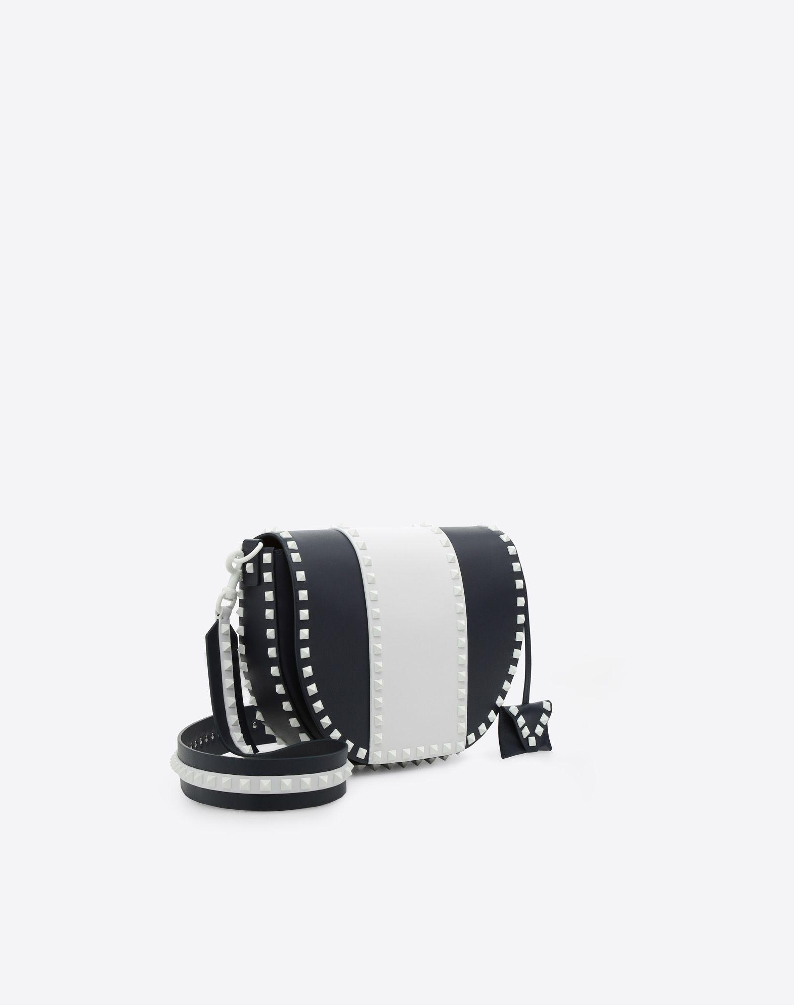 VALENTINO GARAVANI Free Rockstud Shoulder Bag Messenger bag D r