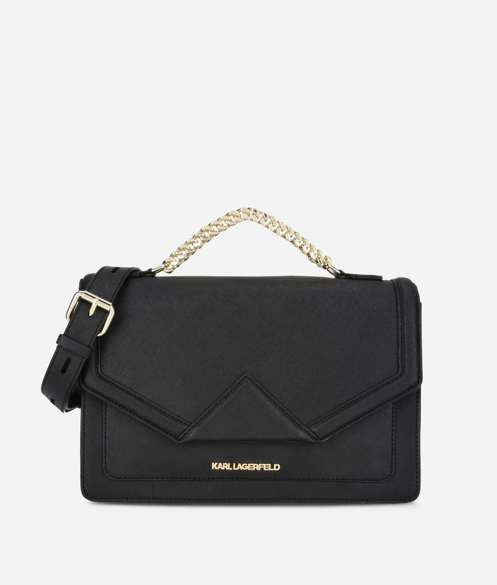 KARL LAGERFELD K/Klassik Shoulder Bag Handbag Woman f