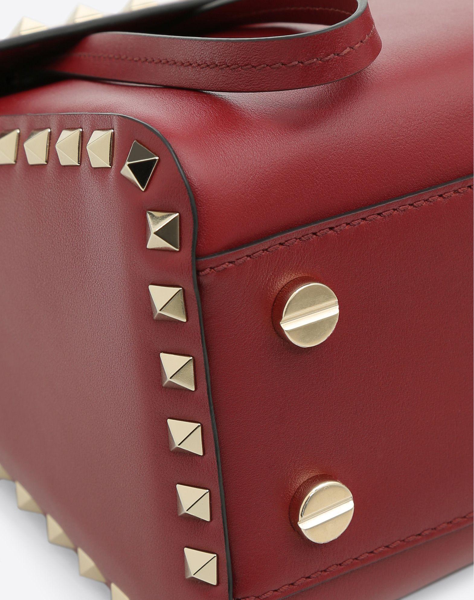 VALENTINO GARAVANI Rockstud Single Handle Bag HANDBAG D b