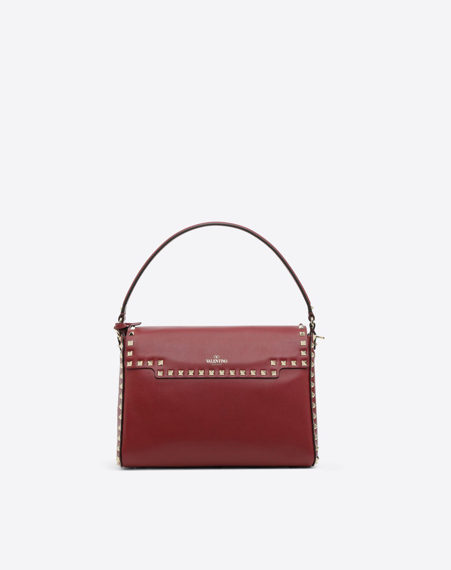 VALENTINO GARAVANI Rockstud Single Handle Bag HANDBAG D d