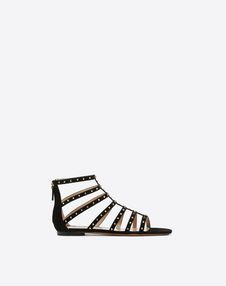 VALENTINO GARAVANI FLAT SANDALS D Lovestud 凉鞋 f