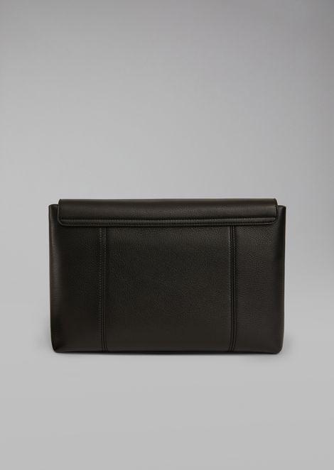 Deerskin document briefcase