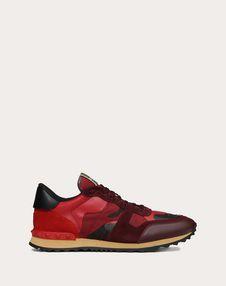 VALENTINO GARAVANI UOMO LOW-TOP SNEAKERS U Sneaker Rockrunner Camuflaje f