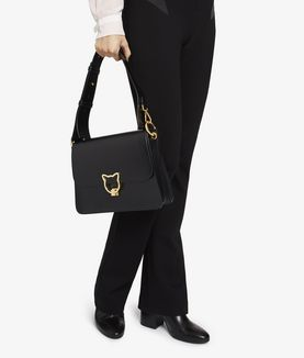 KARL LAGERFELD K/KAT LOCK SHOULDERBAG
