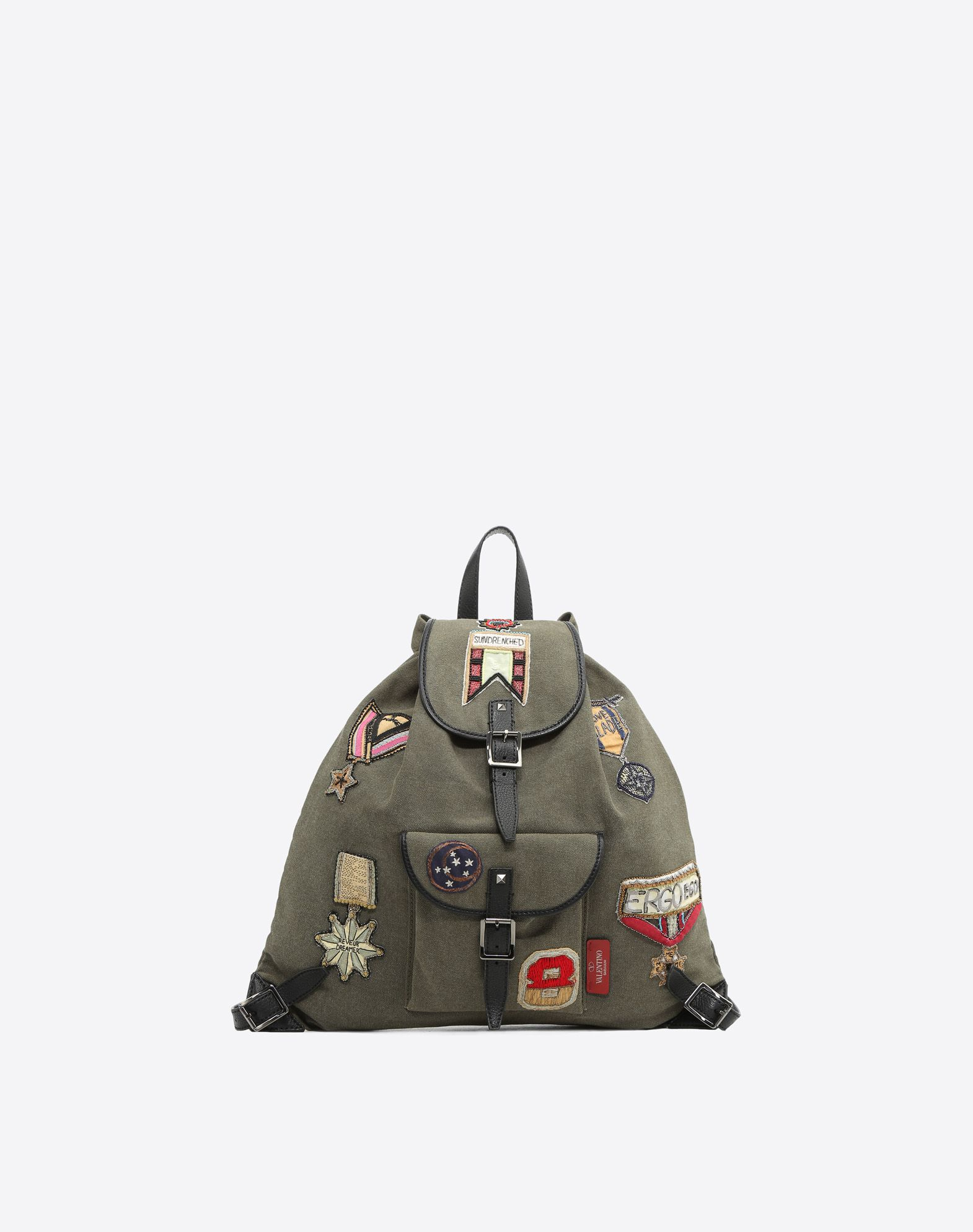 VALENTINO GARAVANI UOMO Embroidered Backpack Backpack U f