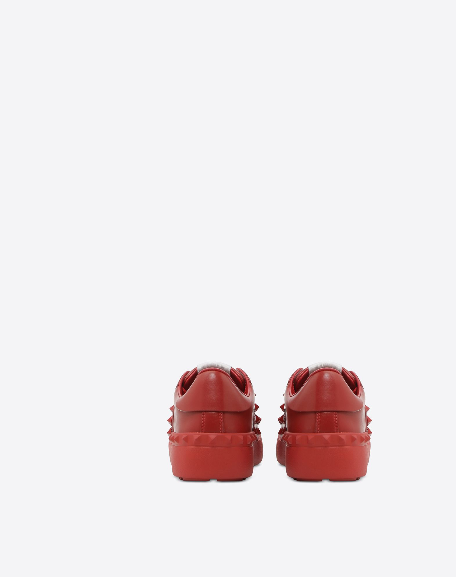 VALENTINO GARAVANI Rockstud Untitled Rosso Sneaker LOW-TOP SNEAKERS D d