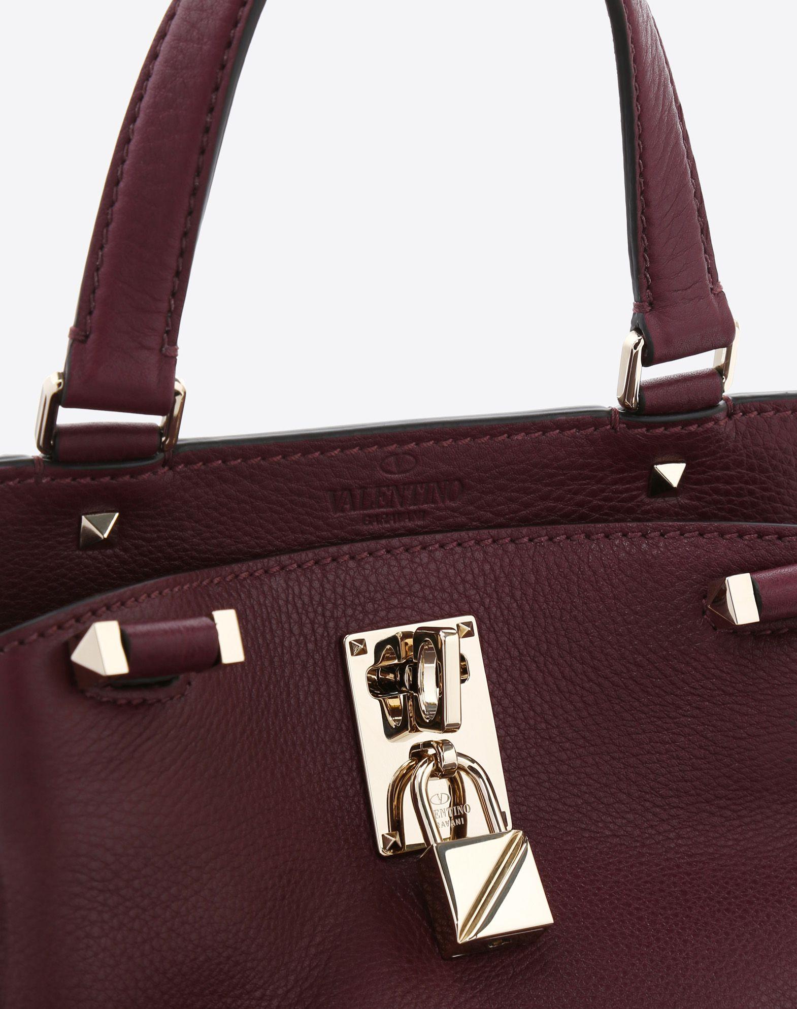 VALENTINO GARAVANI Joylock Medium Handle Bag HANDBAG D b