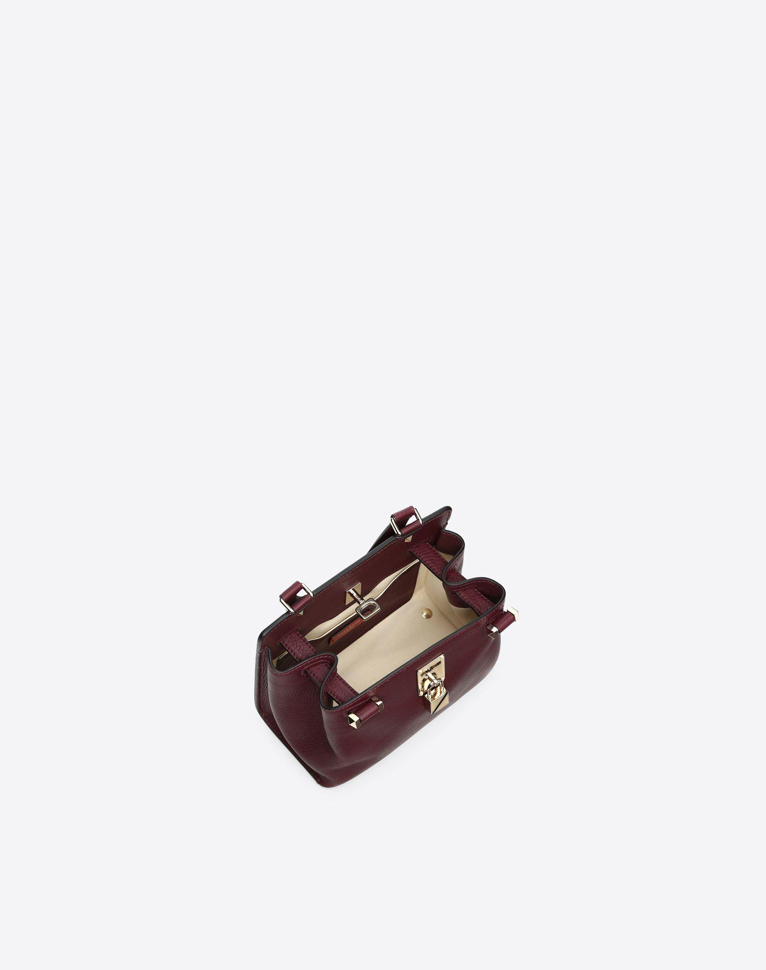 VALENTINO GARAVANI Joylock Medium Handle Bag HANDBAG D e
