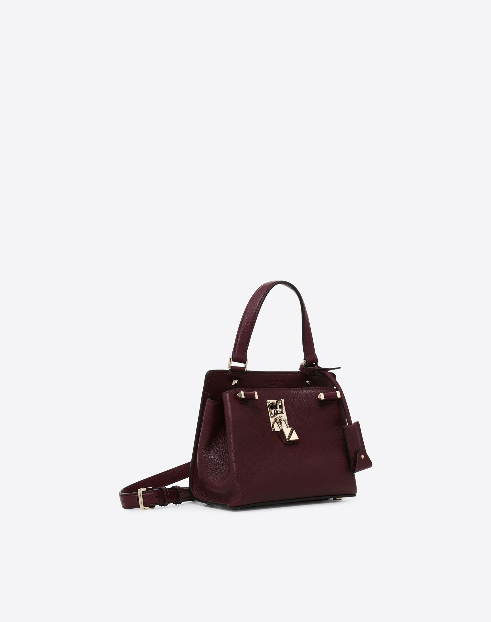 VALENTINO GARAVANI Joylock Medium Handle Bag HANDBAG D r