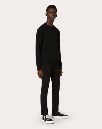 VALENTINO UOMO Trousers U Camou Shuffle jersey jogging bottoms r