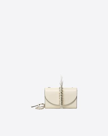 VALENTINO GARAVANI Shoulder bag D Free Rockstud Spike Chain Bag f