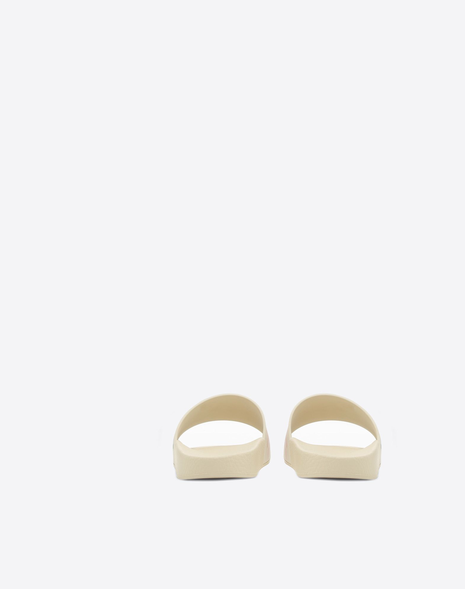 VALENTINO GARAVANI PVC Slide Sandal with Lipstick Print SLIDE SANDAL D d