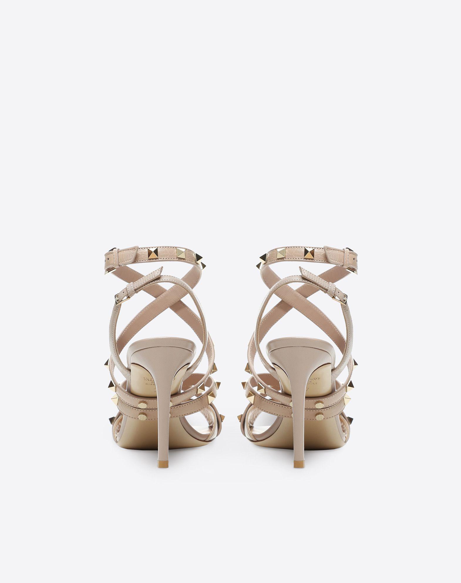 VALENTINO GARAVANI Studwrap 90mm Sandal HIGH HEEL SANDALS D d