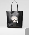 KARL LAGERFELD K/Ikonik Soft Shopper  8_f