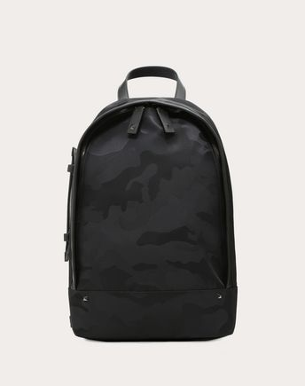 VALENTINO GARAVANI UOMO Backpack U Camouflage Mono-Shoulder Backpack f