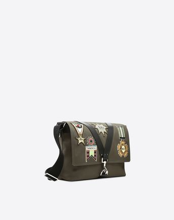 VALENTINO GARAVANI UOMO CROSS BODY BAG U Camouflage Messenger Bag r