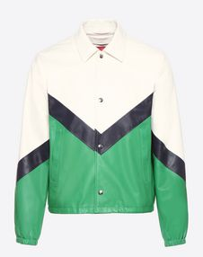 VALENTINO UOMO JACKET U Leather coach jacket f