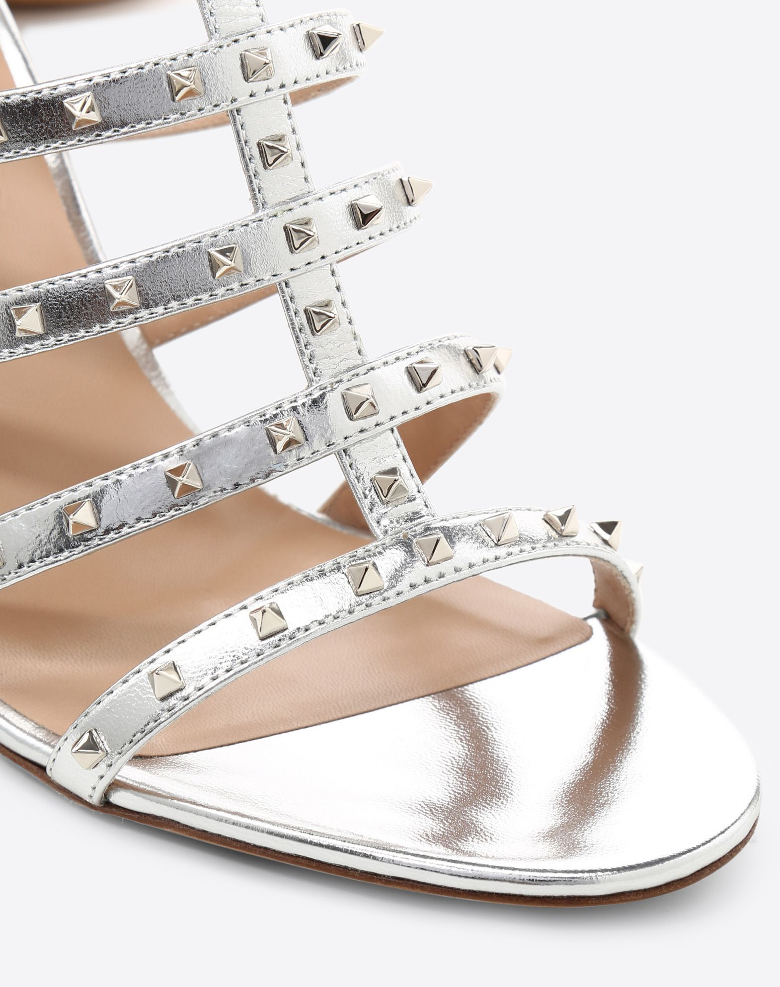 VALENTINO GARAVANI Lovestud 90mm cage Sandal HIGH HEEL SANDALS D b