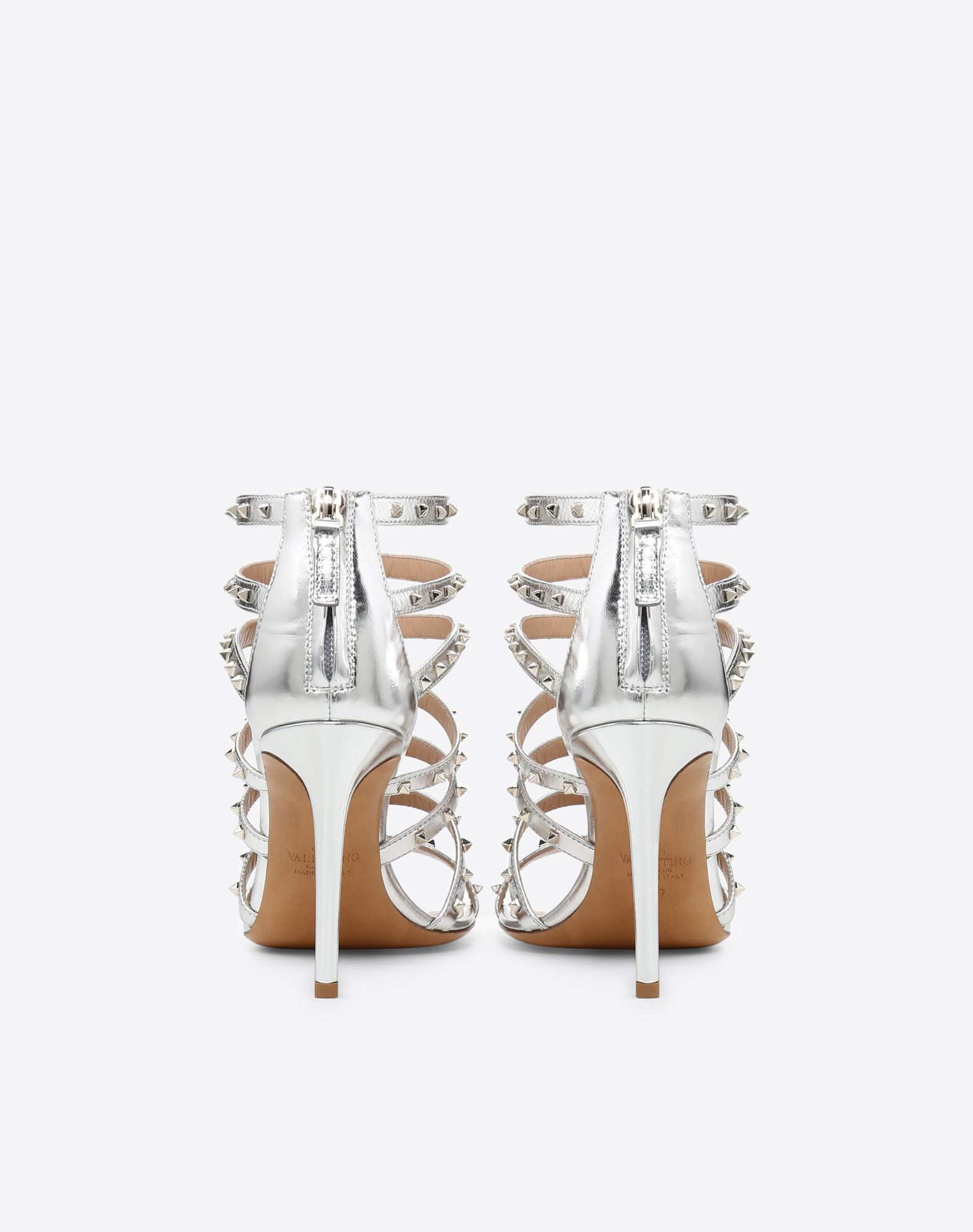 VALENTINO GARAVANI Lovestud 90mm cage Sandal HIGH HEEL SANDALS D d