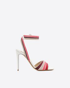 VALENTINO GARAVANI HIGH HEEL SANDALS D Multi-color suede 105mm Sandal f
