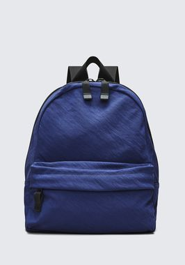 NAVY NYLON CLIVE BACKPACK