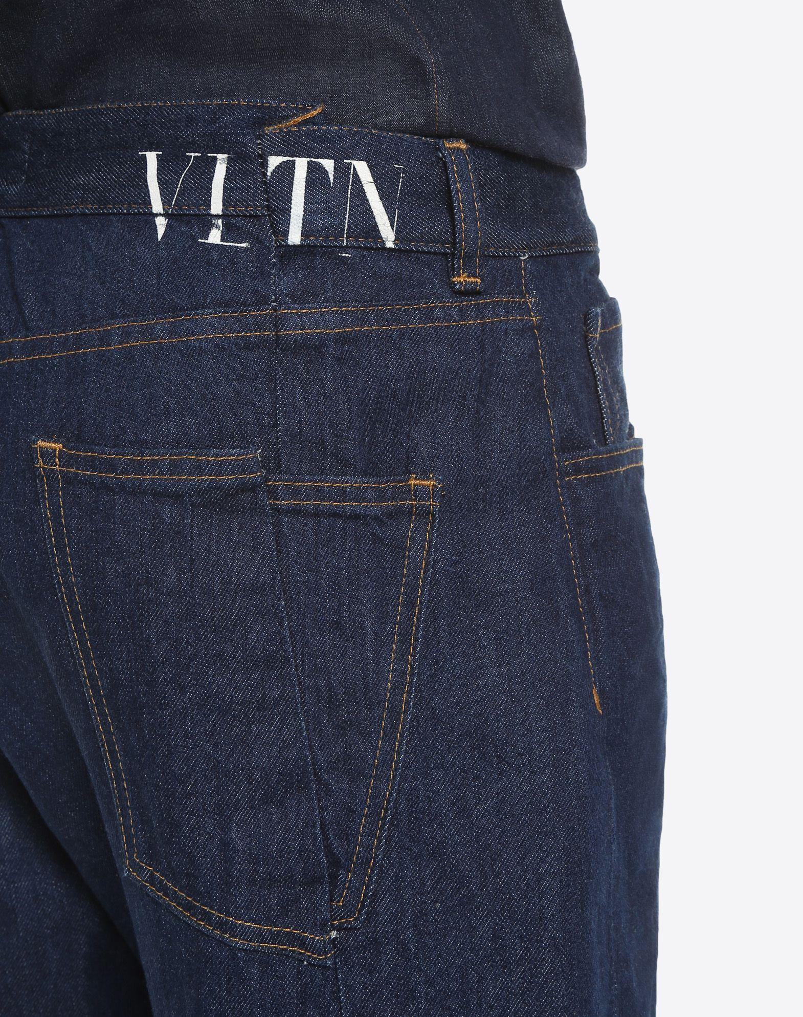 VALENTINO UOMO VLTN 5-pocket jeans DENIM U a