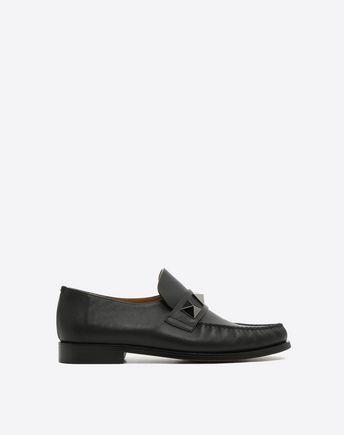 VALENTINO GARAVANI UOMO LOAFERS U Soul Rockstud Boat shoes f