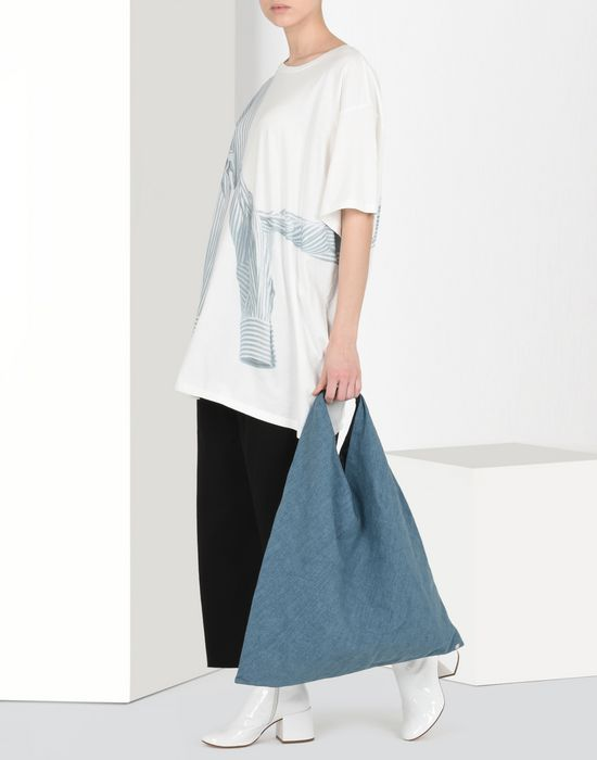 MM6 MAISON MARGIELA Denim Japanese tote bag Handbag Woman b