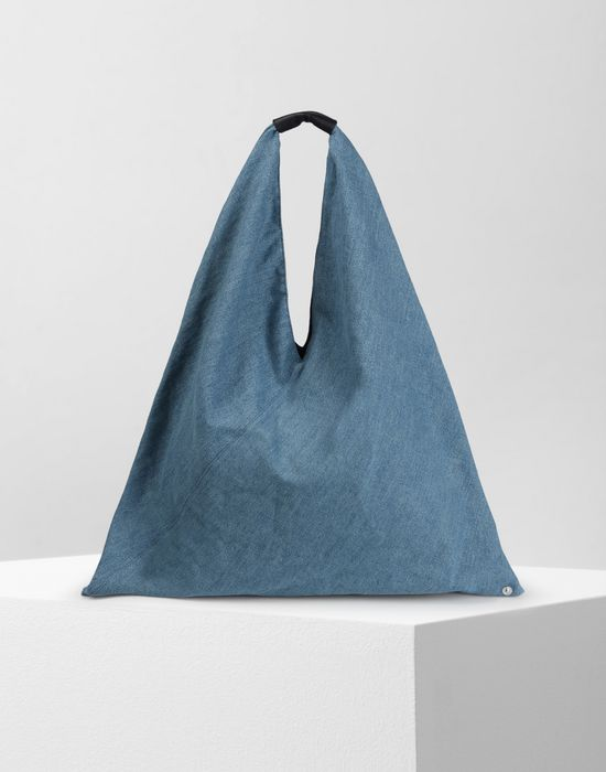 MM6 MAISON MARGIELA Denim Japanese tote bag Handbag Woman f