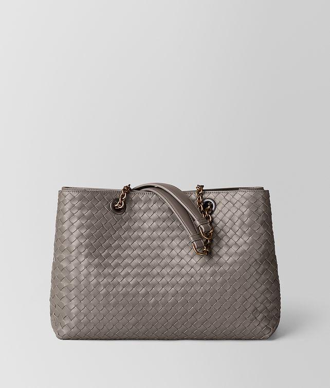 BOTTEGA VENETA SMALL TOTE IN INTRECCIATO NAPPA Tote Bag Woman fp