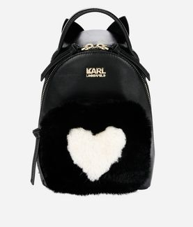 KARL LAGERFELD K/LOVE MINI BACKPACK