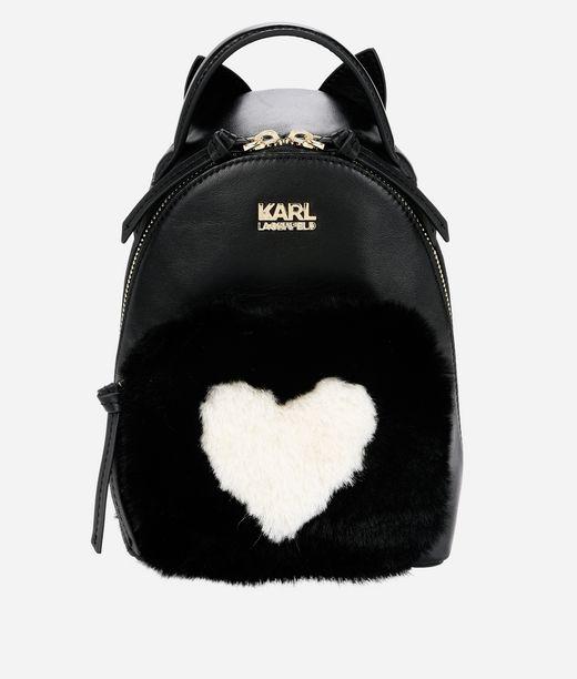 KARL LAGERFELD K/Love Mini Backpack 12_f