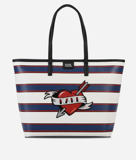 KARL LAGERFELD Captain Karl Shopper Heart 12_f
