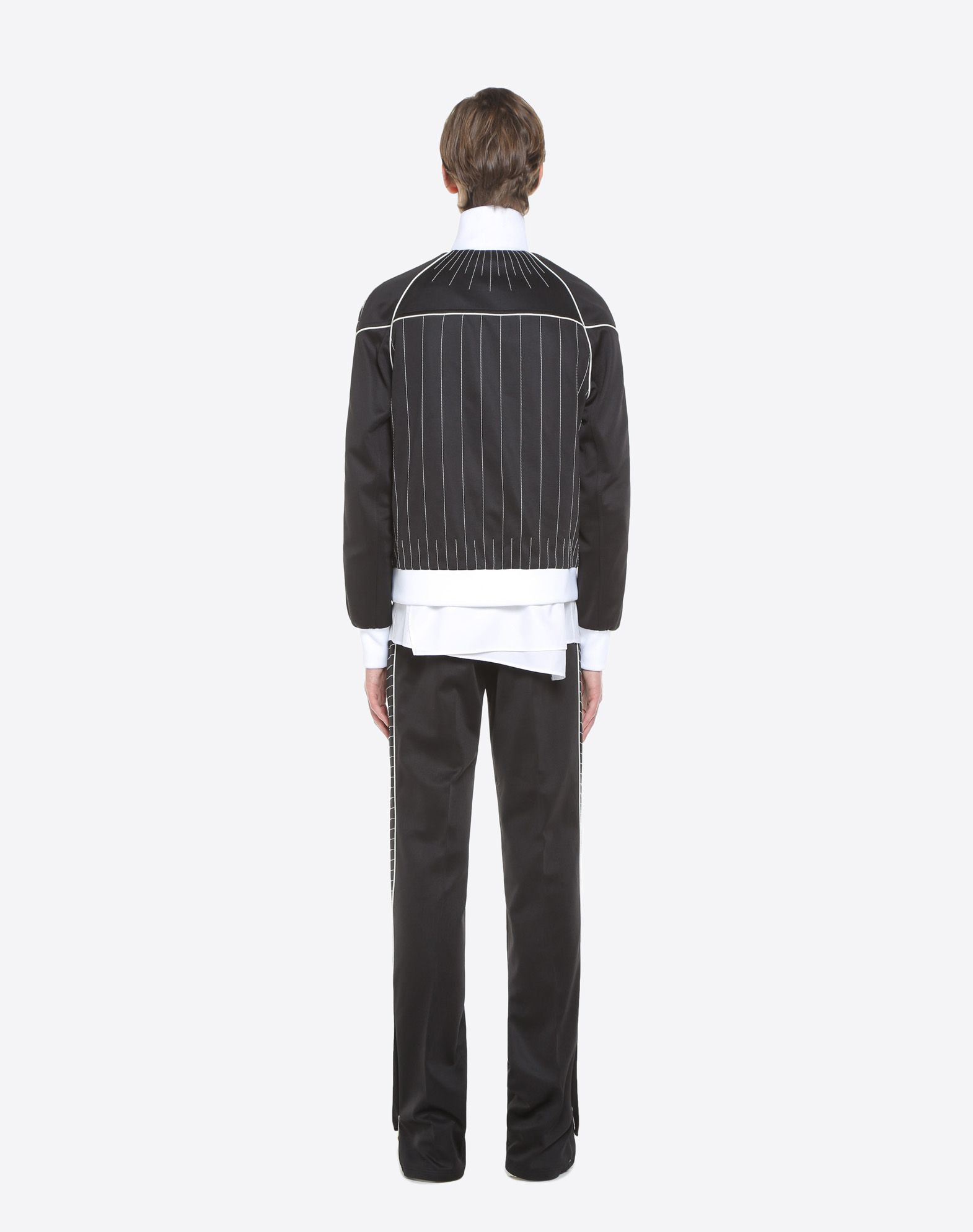 VALENTINO UOMO Trousers with embroidered bands Trousers U e