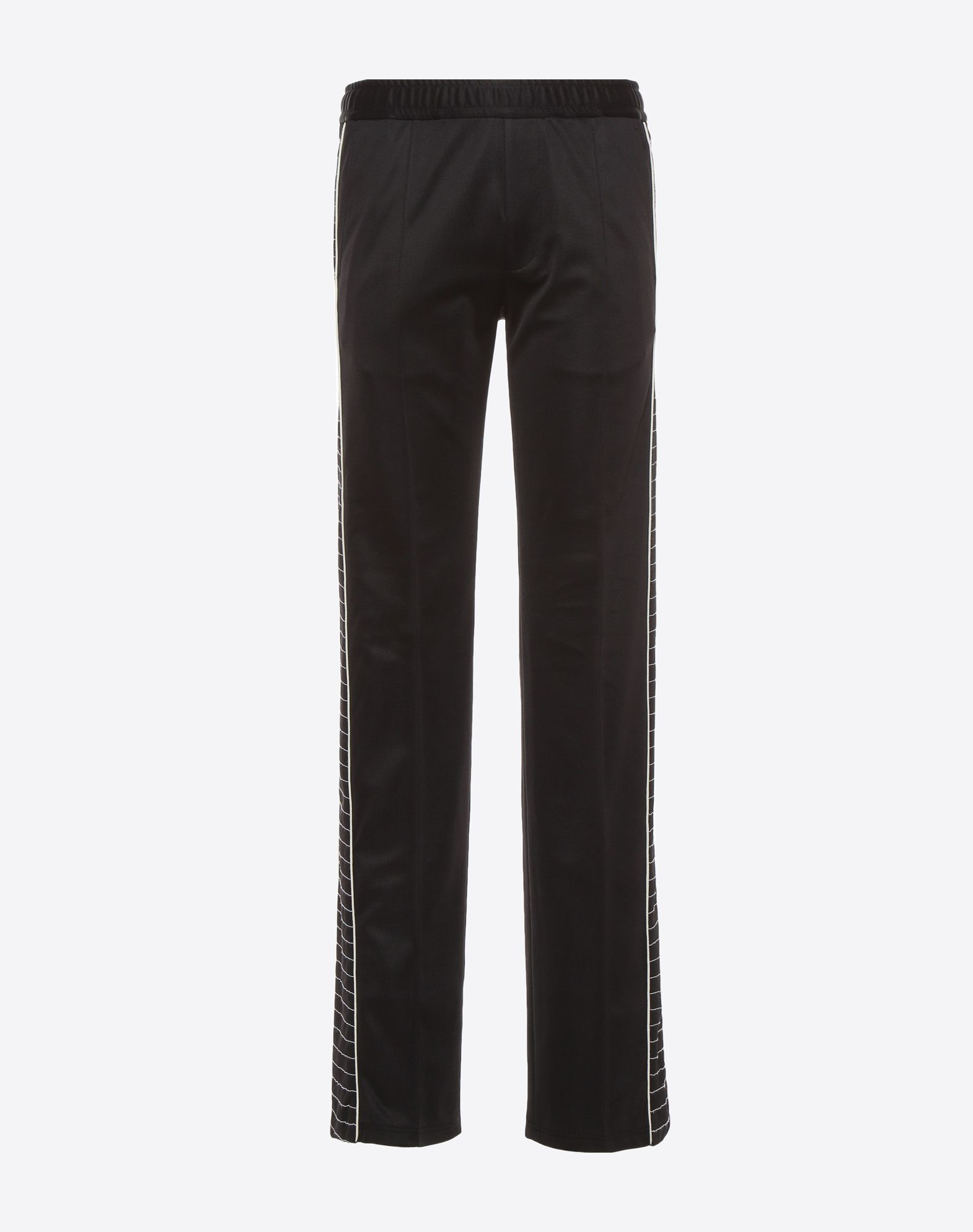 VALENTINO UOMO Trousers with embroidered bands Trousers U f